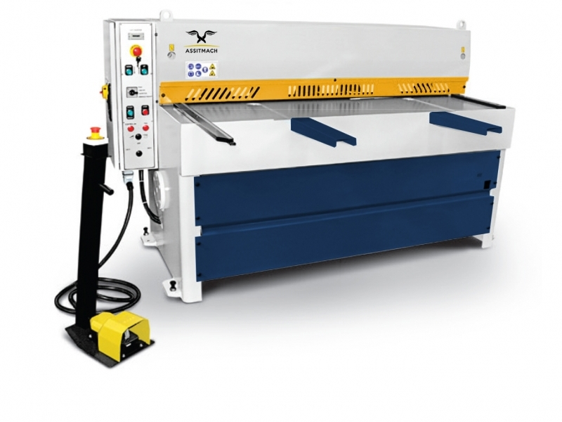 ASSISTMACH M-CUT Motorized Guillotines